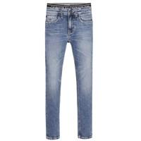 Oblačila Dečki Jeans skinny Calvin Klein Jeans SKINNY VINTAGE LIGHT BLUE Modra