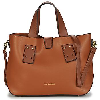 Torbice Ženske Ročne torbice Ted Lapidus CORBY Kamel