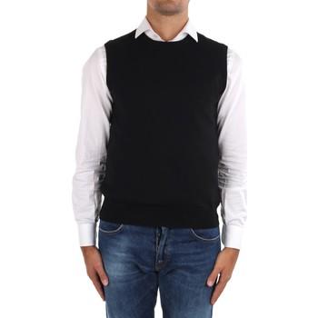 Oblačila Moški Telovniki & Jope La Fileria 14290 55168 Black