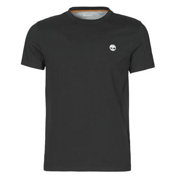Oblačila Moški Majice s kratkimi rokavi Timberland SS DUNSTAN RIVER POCKET TEE SLIM Črna