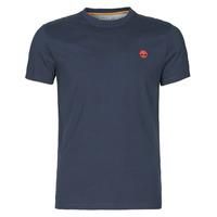 Oblačila Moški Majice s kratkimi rokavi Timberland SS DUNSTAN RIVER POCKET TEE SLIM Modra