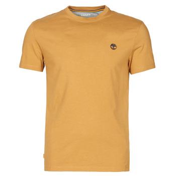 Oblačila Moški Majice s kratkimi rokavi Timberland SS DUNSTAN RIVER POCKET TEE SLIM Bež