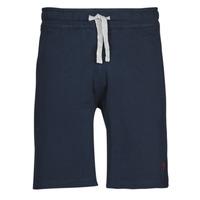 Oblačila Moški Kratke hlače & Bermuda U.S Polo Assn. TRICOLOR SHORT FLEECE Modra