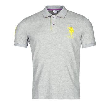 Oblačila Moški Polo majice kratki rokavi U.S Polo Assn. NEW HORSE POLO Siva