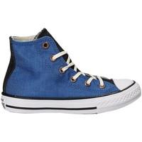 Čevlji  Otroci Visoke superge Converse 659965C Modra
