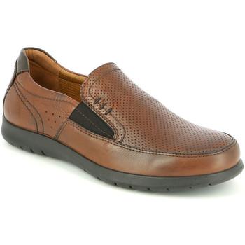 Čevlji  Moški Mokasini Grunland SC4449 Rjav
