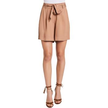 Oblačila Ženske Kratke hlače & Bermuda Gaudi 011FD25016 Bež
