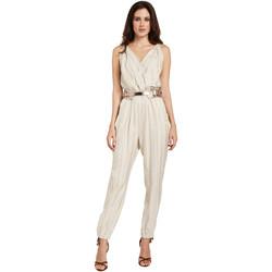 Oblačila Ženske Kombinezoni Gaudi 011FD25028 Bež