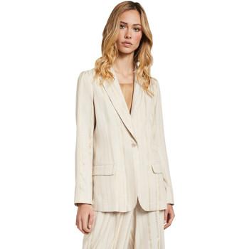 Oblačila Ženske Jakne & Blazerji Gaudi 011FD35011 Bež