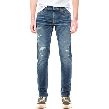Oblačila Moški Jeans straight Antony Morato MMDT00199 FA750218 Modra