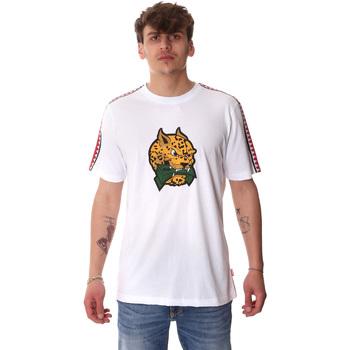 Oblačila Moški Majice s kratkimi rokavi Sprayground 20SP032WHT Biely