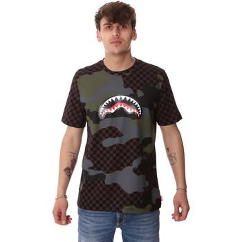 Oblačila Moški Majice s kratkimi rokavi Sprayground SP01820BRO Rjav