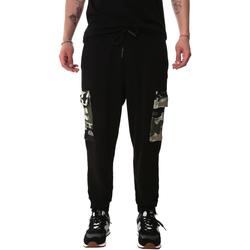 Oblačila Moški Hlače cargo Sprayground 20SP017 Črna
