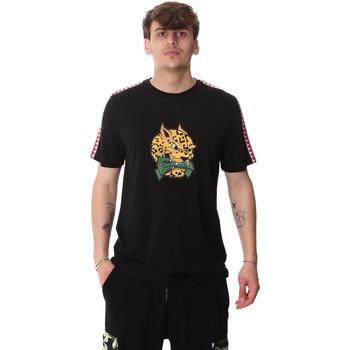 Oblačila Moški Majice s kratkimi rokavi Sprayground 20SP032BLK Črna
