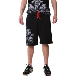 Oblačila Moški Kratke hlače & Bermuda Sprayground 20SP031 Črna