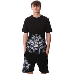 Oblačila Moški Majice s kratkimi rokavi Sprayground 20SP012 Črna