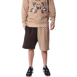 Oblačila Moški Kratke hlače & Bermuda Sprayground 20SP029 Rjav