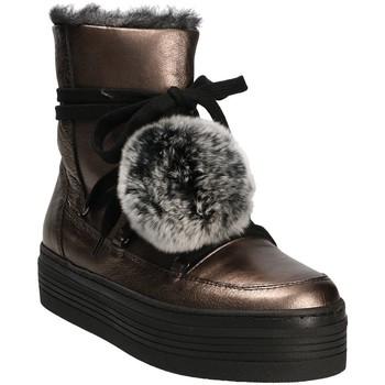 Čevlji  Ženske Škornji za sneg Mally 5991 Siva