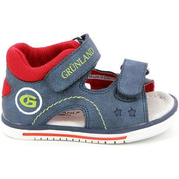 Čevlji  Otroci Sandali & Odprti čevlji Grunland PS0017 Modra