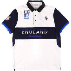 Oblačila Moški Polo majice kratki rokavi U.S Polo Assn. 43773 41029 Biely
