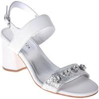 Čevlji  Ženske Sandali & Odprti čevlji Apepazza PRS04 Biely