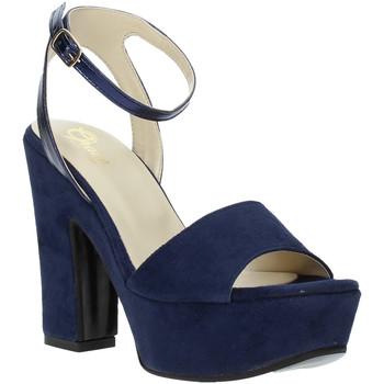 Čevlji  Ženske Sandali & Odprti čevlji Grace Shoes TQ 106 Modra