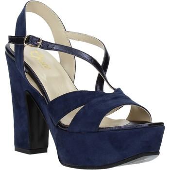 Čevlji  Ženske Sandali & Odprti čevlji Grace Shoes TQ 126 Modra