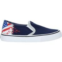 Čevlji  Otroci Slips on Fred Mello S19-SFK101 Modra