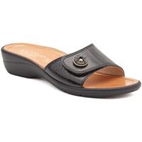 Čevlji  Ženske Natikači Susimoda 1651-01 Črna