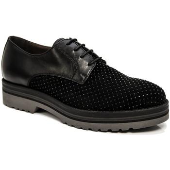 Čevlji  Ženske Čevlji Derby NeroGiardini A806560D Črna