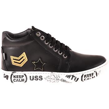 Čevlji  Otroci Visoke superge Melania ME6033F8I.A Črna