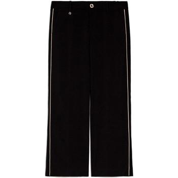 Oblačila Ženske Lahkotne hlače & Harem hlače Nero Giardini E060140D Črna