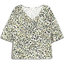 Oblačila Ženske Majice s kratkimi rokavi NeroGiardini E062770D Zelena