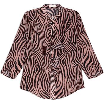 Oblačila Ženske Srajce & Bluze NeroGiardini E063181D Črna