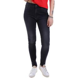 Oblačila Ženske Kavbojke slim Calvin Klein Jeans J20J213157 Črna