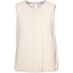 Oblačila Ženske Topi & Bluze Calvin Klein Jeans K20K201947 Bež
