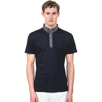 Oblačila Moški Polo majice kratki rokavi Antony Morato MMKS01489 FA100084 Modra