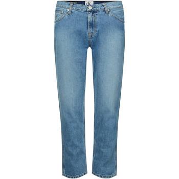 Oblačila Ženske Kavbojke slim Calvin Klein Jeans J20J212767 Modra