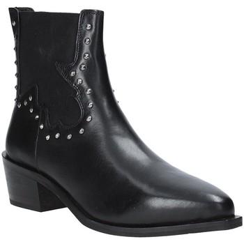 Čevlji  Ženske Gležnjarji Apepazza 9FCLM05 Črna