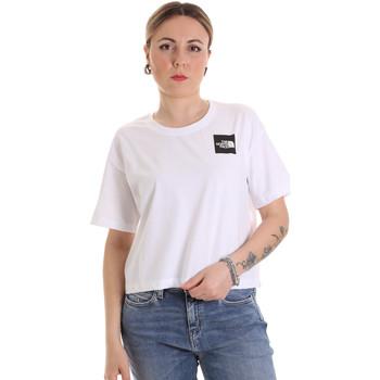 Oblačila Ženske Majice s kratkimi rokavi The North Face NF0A4SY9FN41 Biely