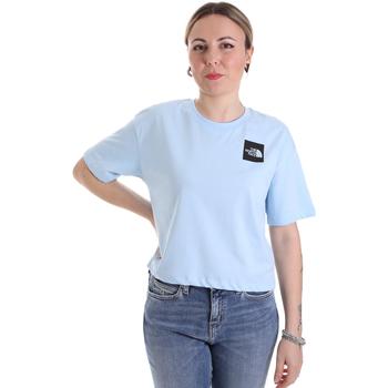 Oblačila Ženske Majice s kratkimi rokavi The North Face NF0A4SY9JH51 Modra