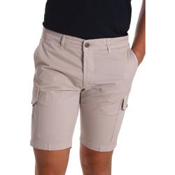 Oblačila Moški Kratke hlače & Bermuda Sei3sei PZV130 7148 Bež