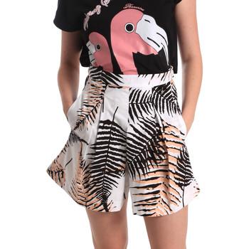 Oblačila Ženske Kratke hlače & Bermuda Fornarina BER1I88C97709 Biely