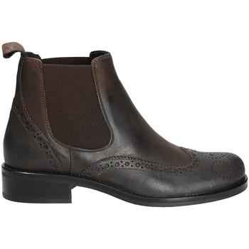 Čevlji  Ženske Polškornji Mally 4591 Rjav