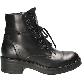 Čevlji  Ženske Polškornji Mally 6019 Črna