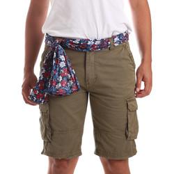 Oblačila Moški Kopalke / Kopalne hlače Gaudi 911BU25034 Zelena