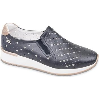 Čevlji  Ženske Slips on Valleverde V66384 Modra