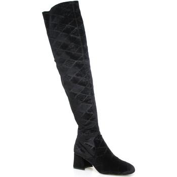 Čevlji  Ženske Visoki škornji Apepazza SHR06 Črna