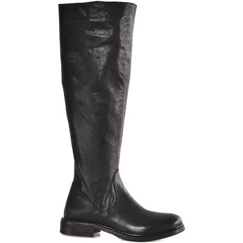 Čevlji  Ženske Mestni škornji    Mally 6463 Črna