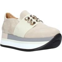 Čevlji  Ženske Slips on Grace Shoes 331004 Bež